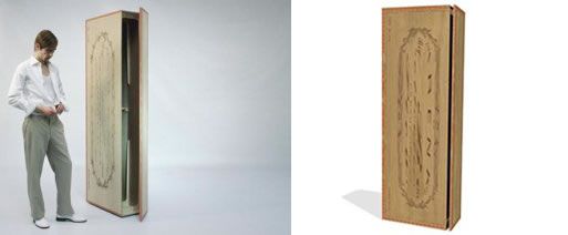 Cigar Box Wardrobe for Droog