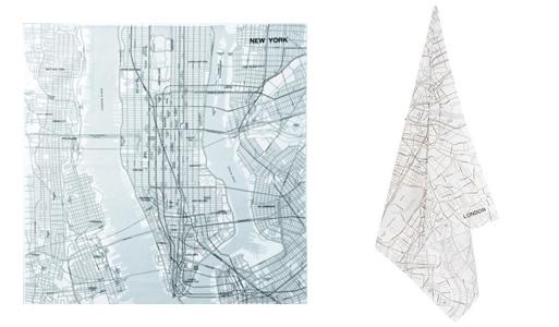 Map Handkerchief