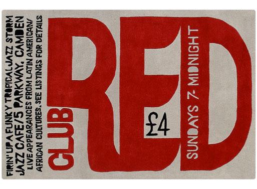 Club Red Rug