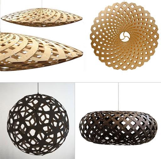 Flax, Coral and Kina Pendant Lights