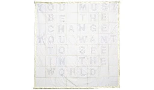 """""""Be the Change"""" Throw"""