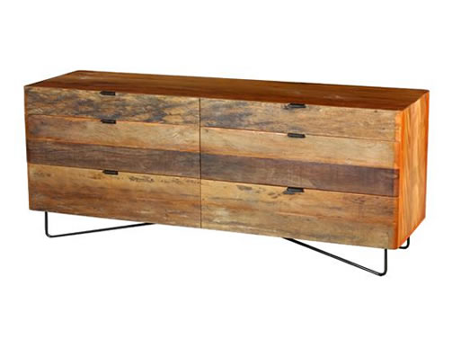 Curve Six Dresser by Environment