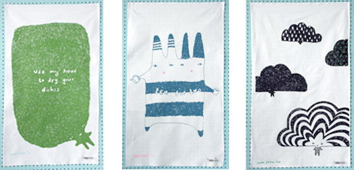 Tea Towels by Donna Wilson