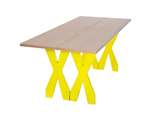 Double Cross Dining/Console Table