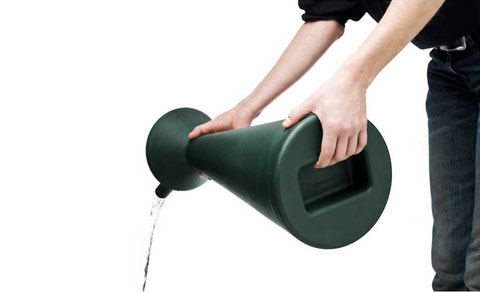 Dual-Action Watering Can