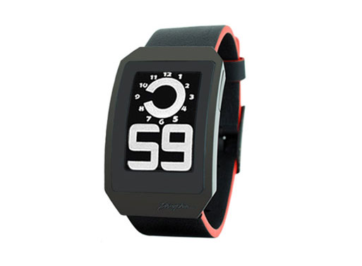 E Ink Digital Hour Watch