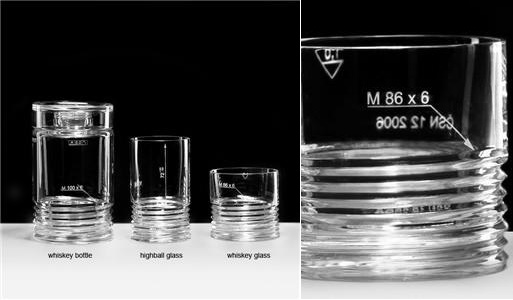 Engineering Collection Glassware by Ruckl Crystal