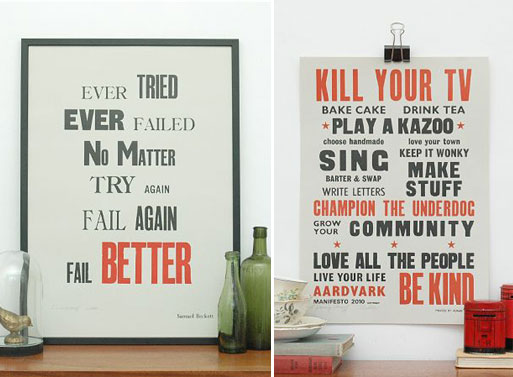 Prints by Lesley & Pea