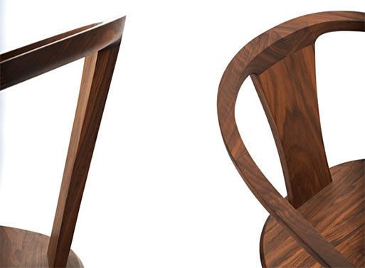 Fall Dining Chair With Armrests