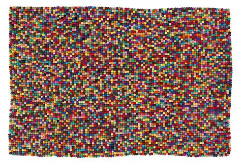 Felt Pixel Rug