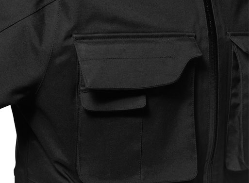 Aether Apparel's Field Jacket closeup