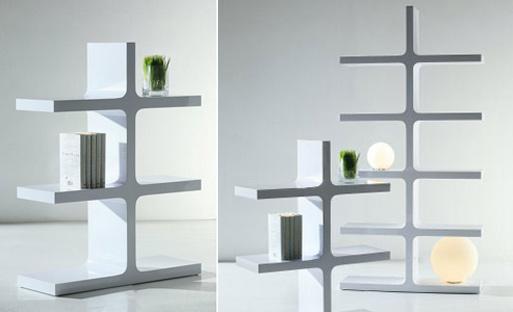 Fishbone Shelves