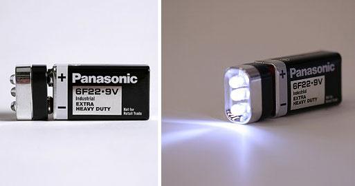 Flashlight Battery