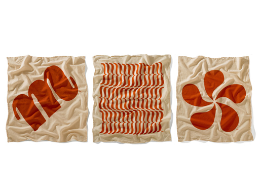 Flour Sack Towels Orange