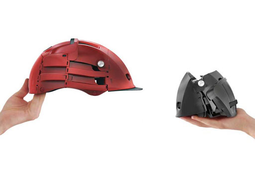 Folding Bicycle Helmet by Overade