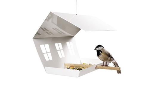 Folding Bird House