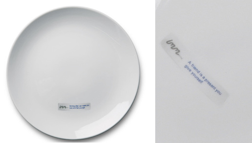 Fortune Cookie Plate