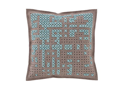 Canevas Square Abstract Cushion
