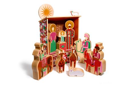 Alexander Girard Nativity Set