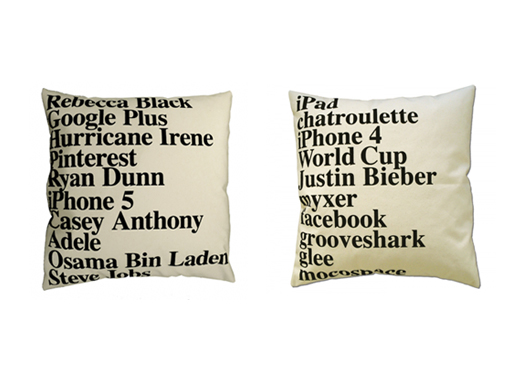 Google Pillows from ElasticCo