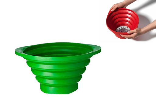 Collapsible Strainer (green)