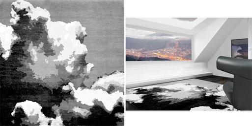 Grey Skies Lounge Rug by HZL