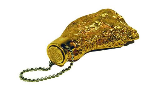 Harry Allen Rabbit's Foot Keychain