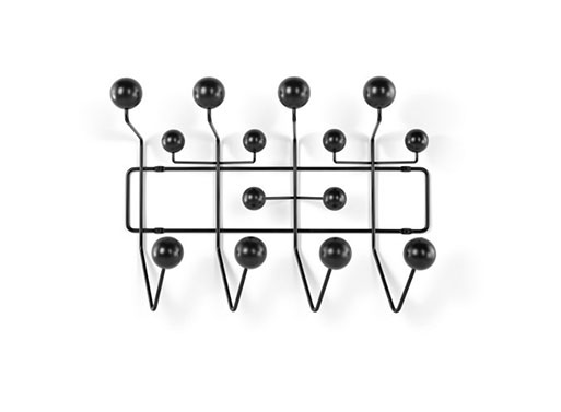 Eames® Hang-It-All, Black and White