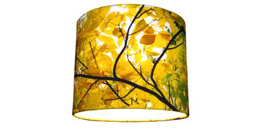 Hickory Silk Lampshade