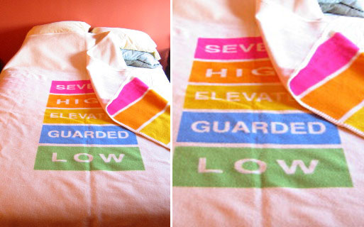 Homeland Security Blanket by Chrissy Conant