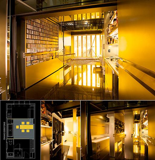Gary Chang's 344-square-foot apartment