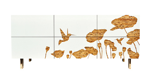 Hummingbird Dresser from Iannone Design