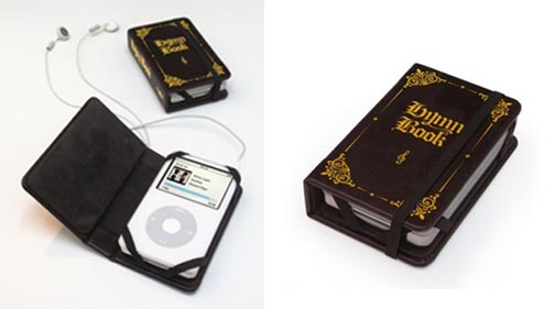 Leather Hymn Book iPod Cover