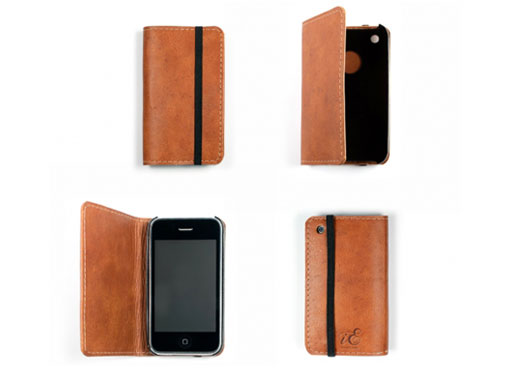 iErnest iPhone wallet cognac