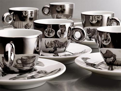Illy Espresso Cups by William Kentridge