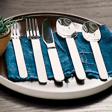 broad handled flatware