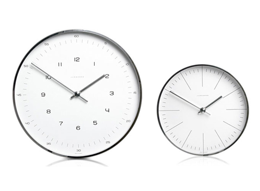 Max Bill Wall Clocks