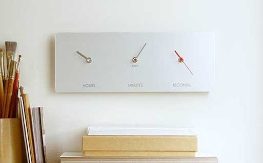 'Just A Moment' Clock