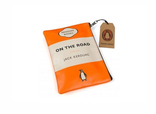Penguin Travel Pouch kerouac