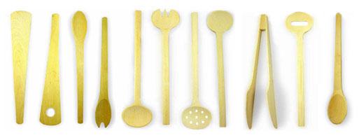 Scanwood's 11 Beechwood Kitchen Tools