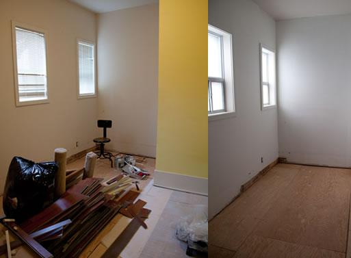 Laminate flooring putting laminate flooring on walls for Urbn laminate flooring
