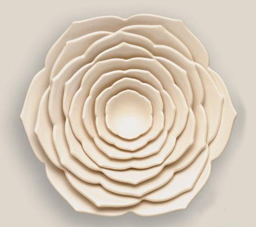 Nesting Bowl Set, (Lotus)