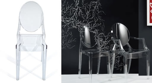 Victoria Sidechair by Philippe Starck