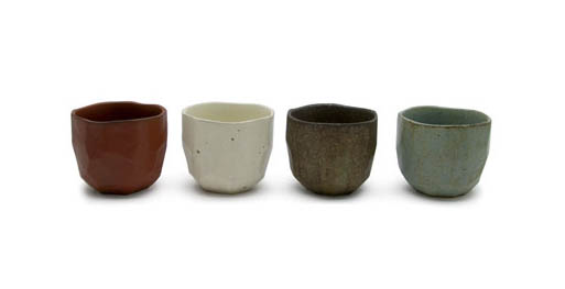 Faceted Tea Bowls
