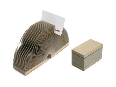 Accordion Card/Pen Holder