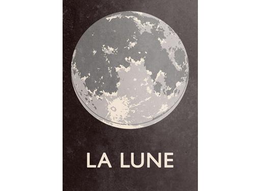 La Lune print