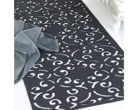laser cut rug