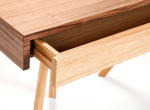 Legs Crossed Desk