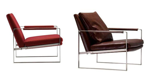 Leman Stainless Steel Lounge Chair