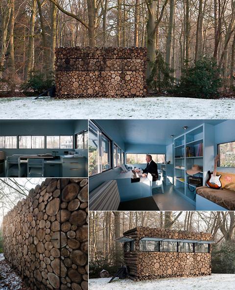 Log House Study- Hans Liberg
